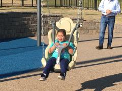 The Central Park Improvement Project included the installation of a 1 million dollar Universal Playground in Oak Brook