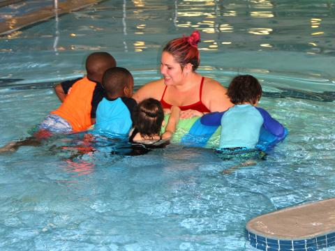 Oak Brook Park District Swim Lessons are available in the Spring, Summer, Winter, and Fall!