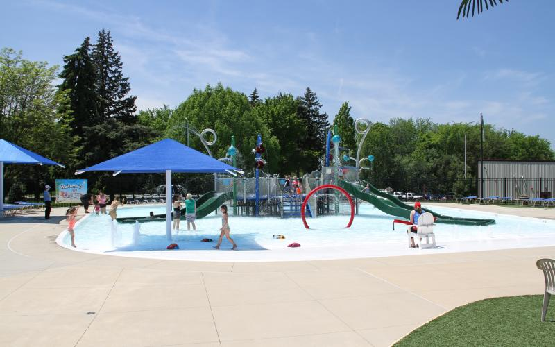 Oak Brook Park District Splash Island