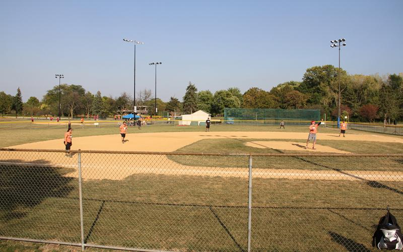 Baseball at Autumn Fest