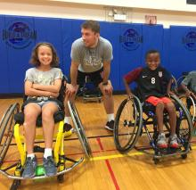 Basketball Tournament Benefits Oak Brook Universal Playground