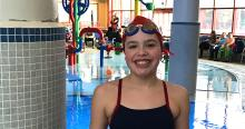 Oak Brook Resident Maggie Krause Breaks 11-12 Girls 100 IM Swim Team Record