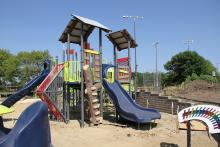 The Oak Brook Park District Universal Playground
